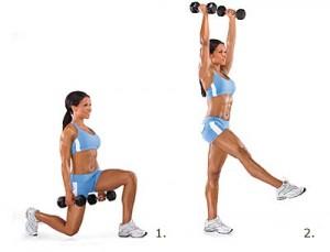 Комбинированные упражнения